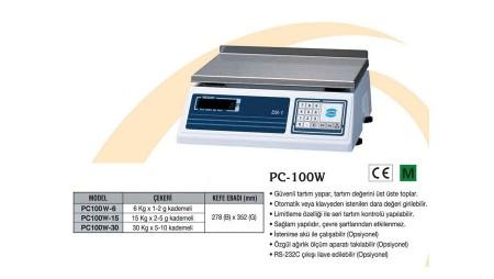 Densi Tartım Terazi PC-100 W Model